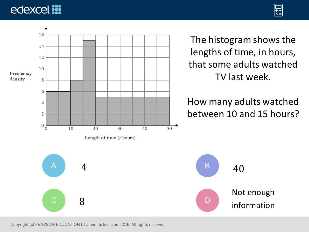 Algebra Histogram Worksheets 1