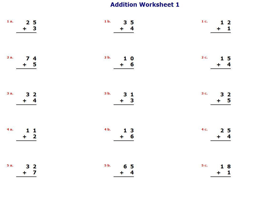 Algebra Worksheets K5 Learning 1