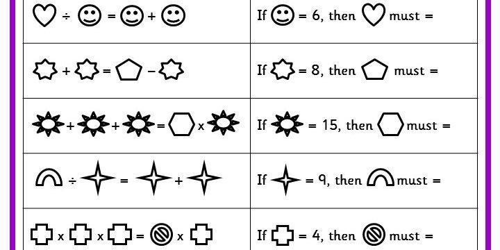 Introductory Algebra Worksheets