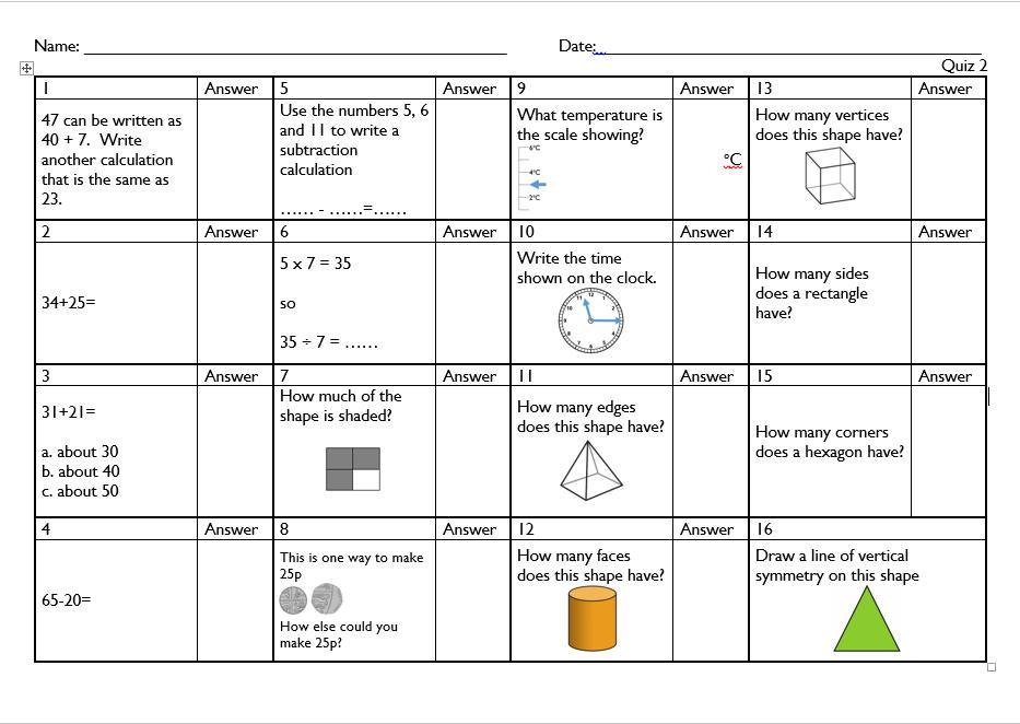Math Worksheets For Grade 6 Division