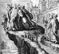 Image result for images of Jesus with angry mob