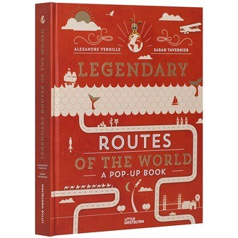 legendary routes of the world | 9783899557596