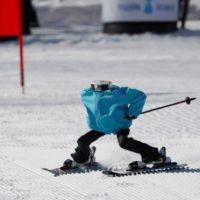 Robôs treinam para participar nos Jogos Olímpicos de Inverno