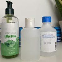 Como fazer gel desinfetante para as mãos em casa