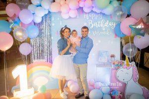 День рождения мальчика в Морском стиле в синезеленых цветах