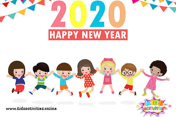 2020 doodles new year - cartoon cute new year doodle 2020