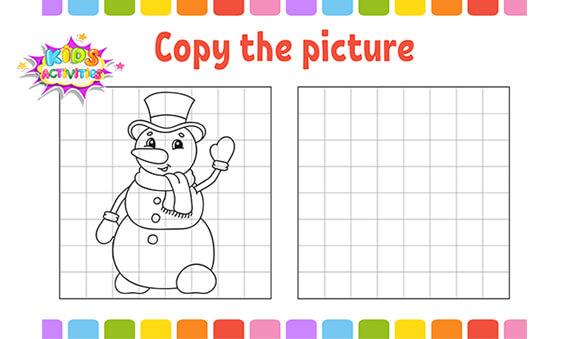 Free Preschool Snowman Worksheets