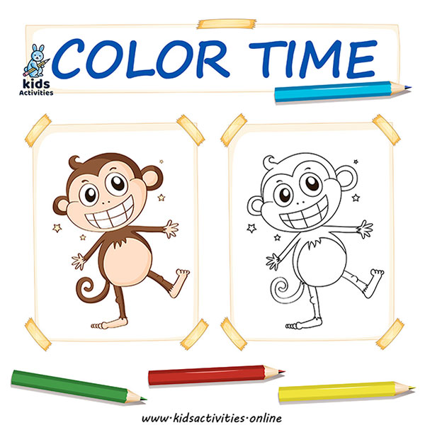 zoo animal coloring pages for toddlers
