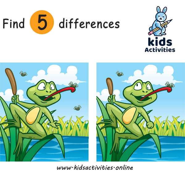 Free printable spot the difference puzzles for toddlers