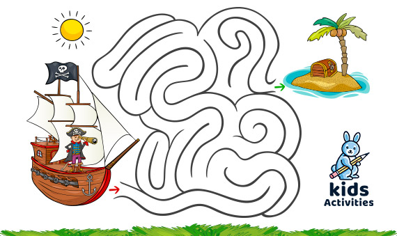 Funny mazes for kids printable | puzzle for children