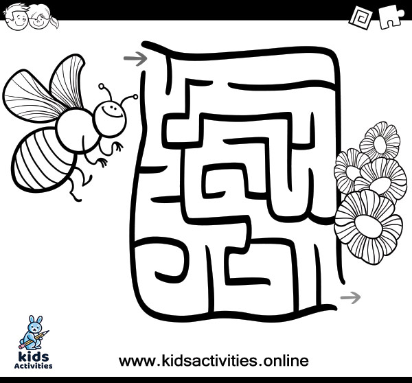 Free printable maze coloring pages