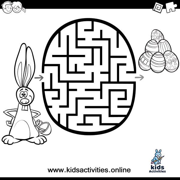 Free printable maze worksheets for preschoolers