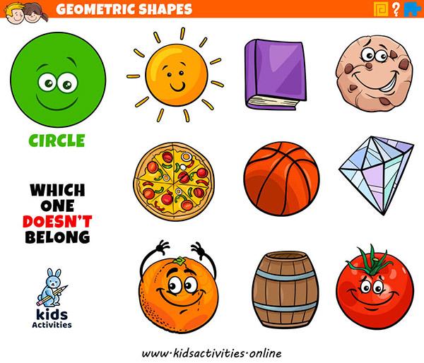 shapes for kindergarten