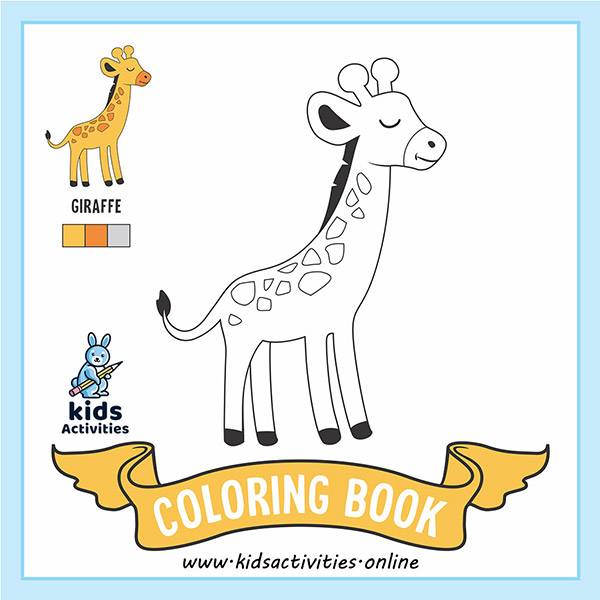 Coloring pages of animals printable pdf