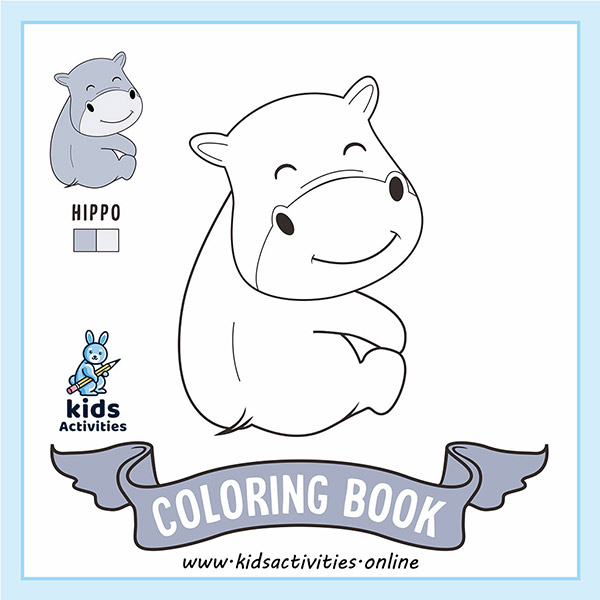cute animals coloring pages to print