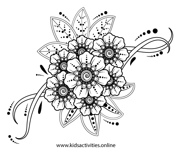Coloring pages for adults print