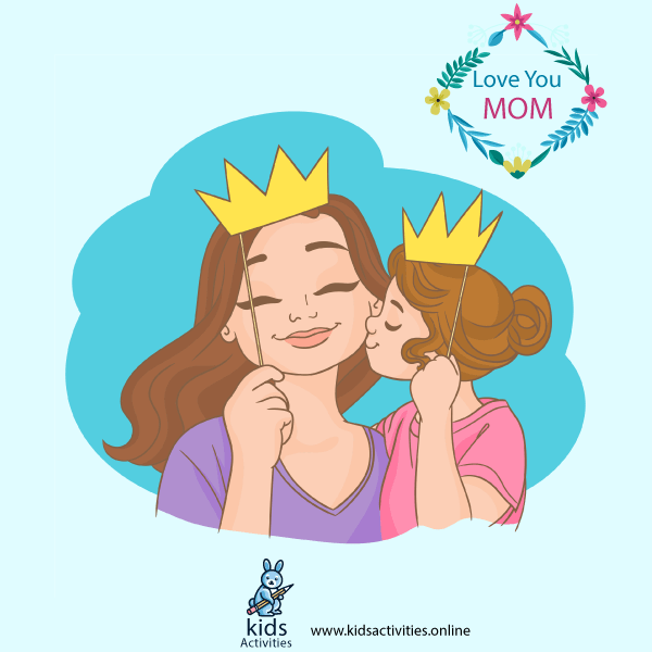 Cartoon Happy Mother`s Day Images, Greeting Card