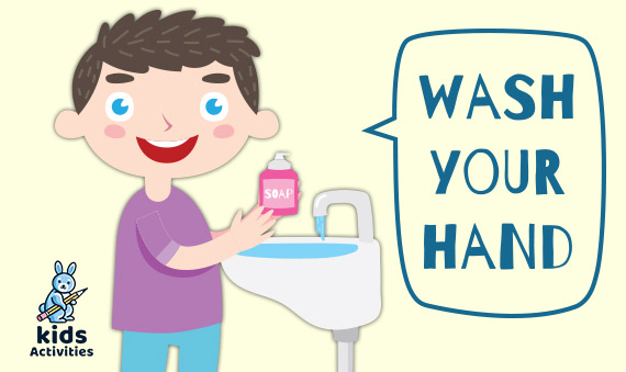 Hand washing for kids