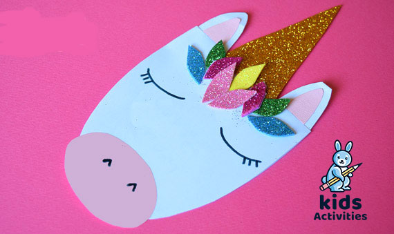 make unicorn cards