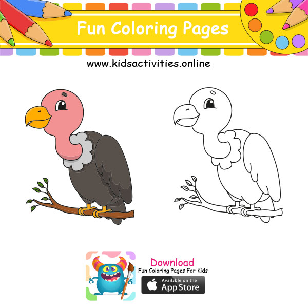 Coloring Pages Cute animal
