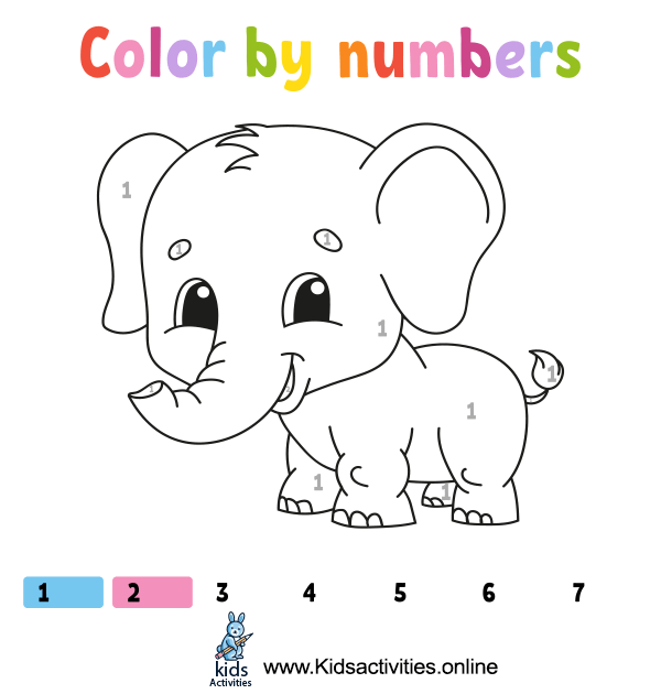 Coloring by the numbers