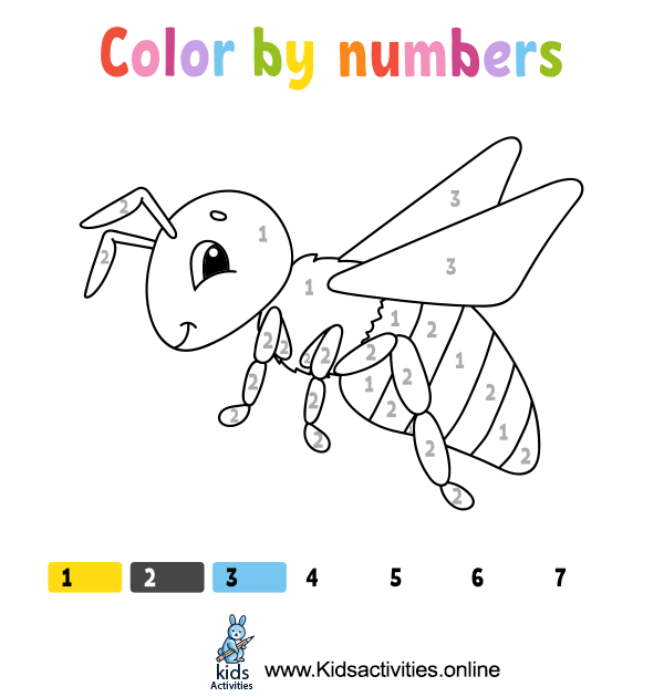 Coloring book kids
