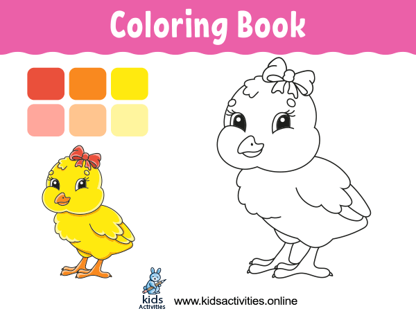 Free Coloring Book Pages For Kids - Printable