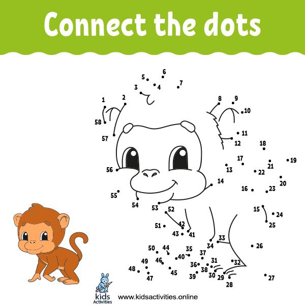 Free Animal Dot To Dots Printables