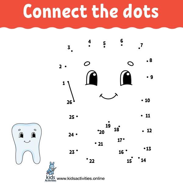 Free printable dot to dot worksheets
