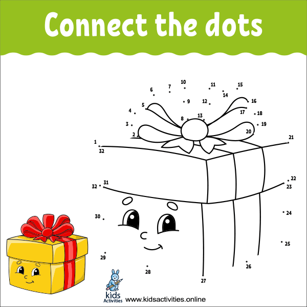 Connect the dots free printable