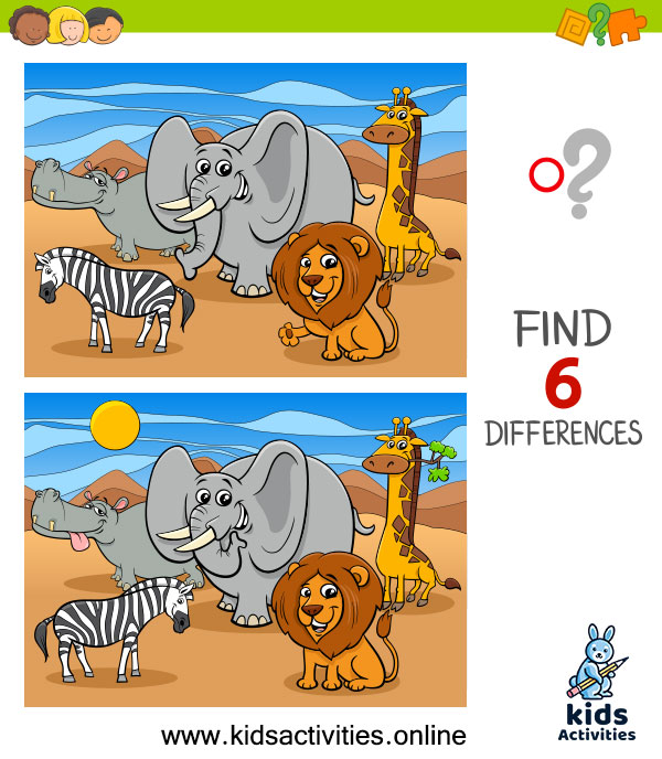 find the difference between two pictures