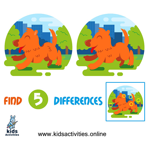 Best 10+ Find difference between two images for kids