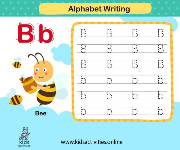 Alphabet letters worksheets for kindergarten