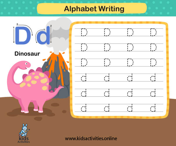 Capital and Small Letters Worksheet - Kindergarten worksheet writing