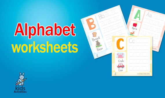 kindergarten Worksheets Alphabet