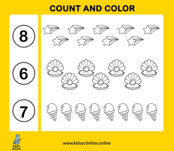 sequencing numbers 1 10 worksheets