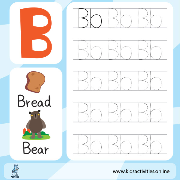 Capital and Small Letters Worksheet- Alphabet letters Tracing worksheets