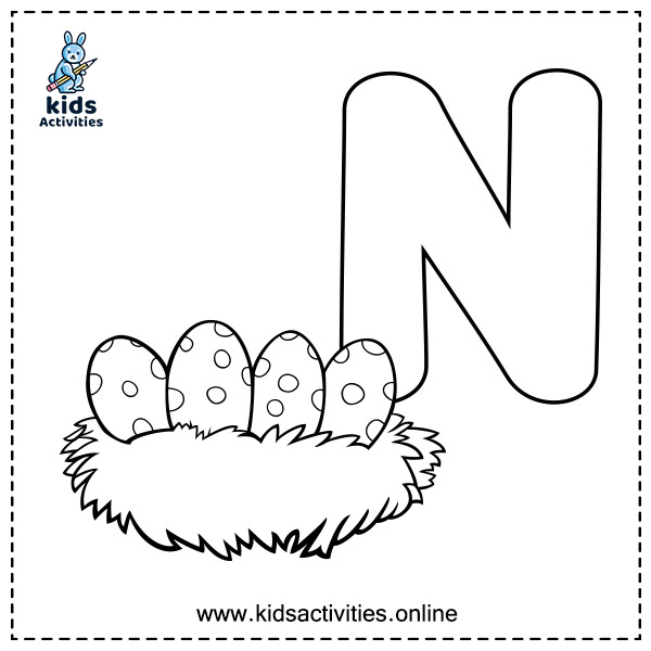ABC For Coloring - Free Alphabet coloring pages