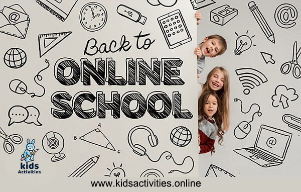 Back to online school 2021 image