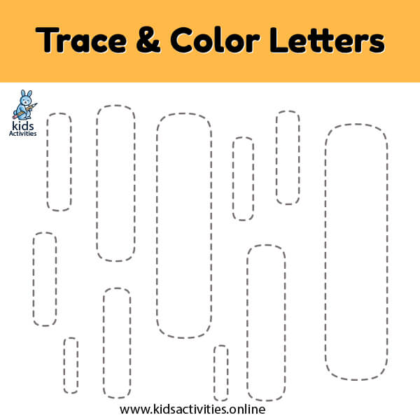 trace color letter i