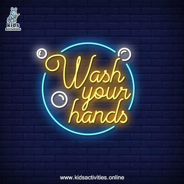 Wash your hand neon signs