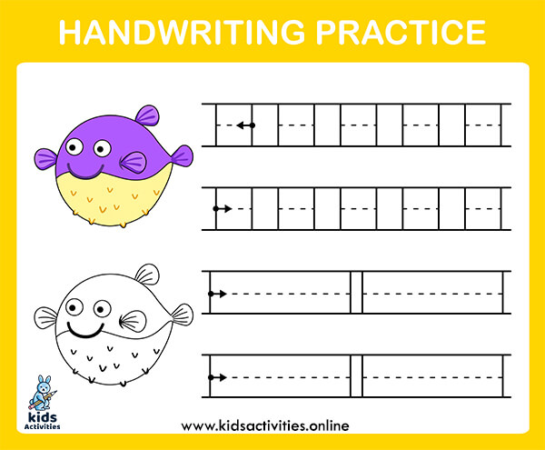 Free printable handwriting practice sheets for preschool