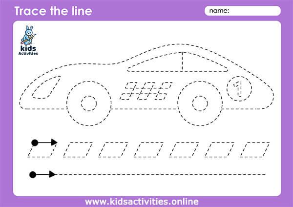 transportation worksheets for kindergarten