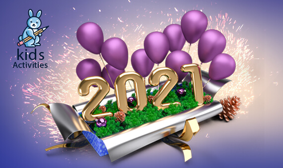 Free Wallpaper New Year 2021 HD Download