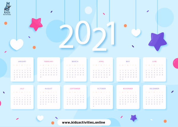 Printable 2021 Calendar Templates – Free Download