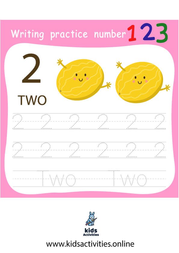 Free Practice writing the numbers 1 to 10 in a ten frame