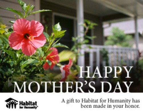 Habitat For Humanity Mothers Day Cards