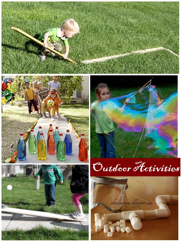 Activities for 4 Year Olds