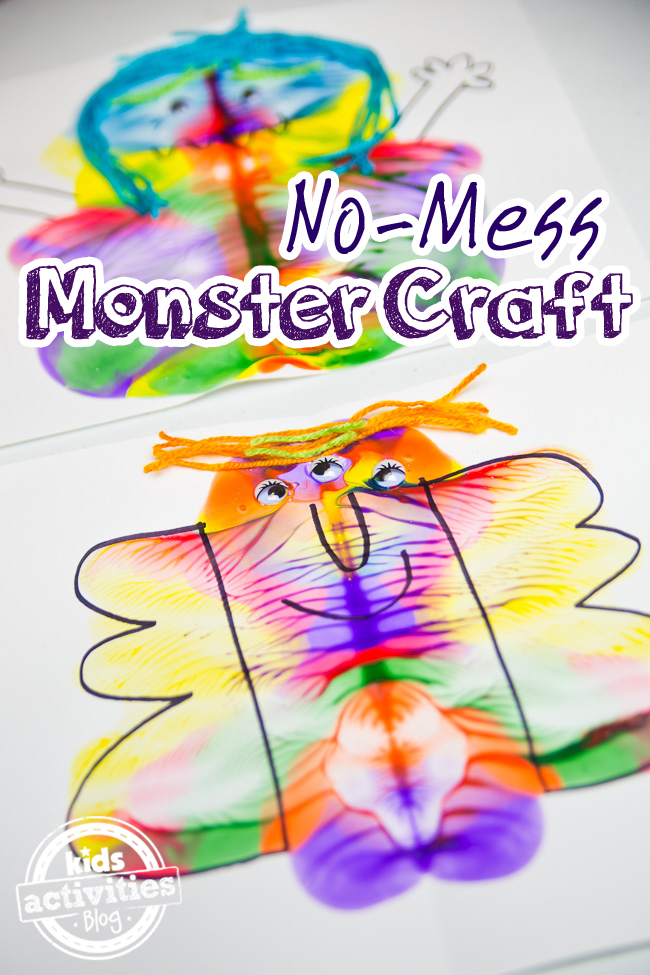No Mess Monster Craft