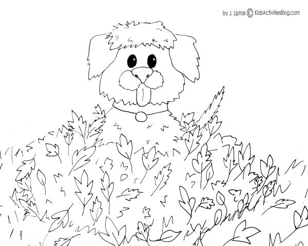 fall coloring pages printable free # 23